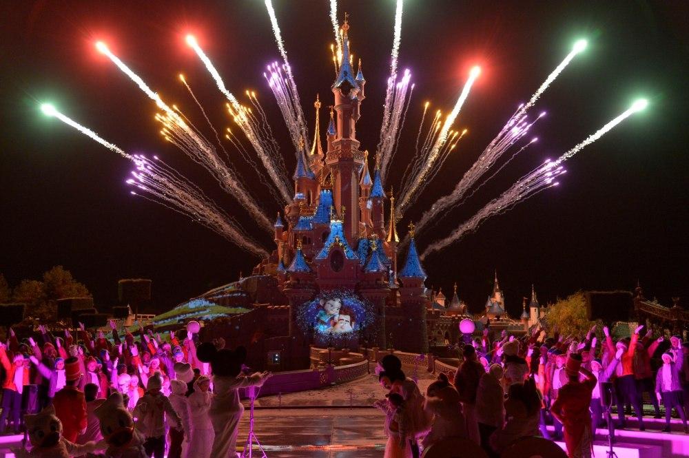 Disneyland Paris and the nightime spectacular
