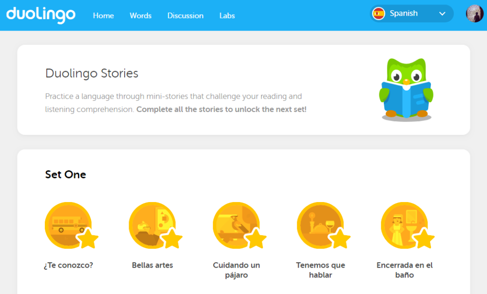 duolingo stories